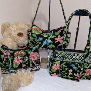 Vera Bradley Matched Shoulderbas w/BONUSES